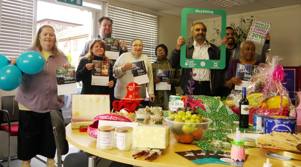 macmillan coffee and get online week photo